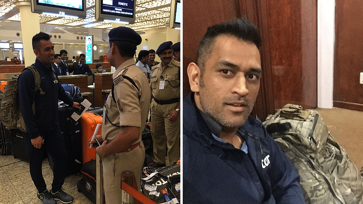 (Photo: Twitter/BCCI and MSDhoni)