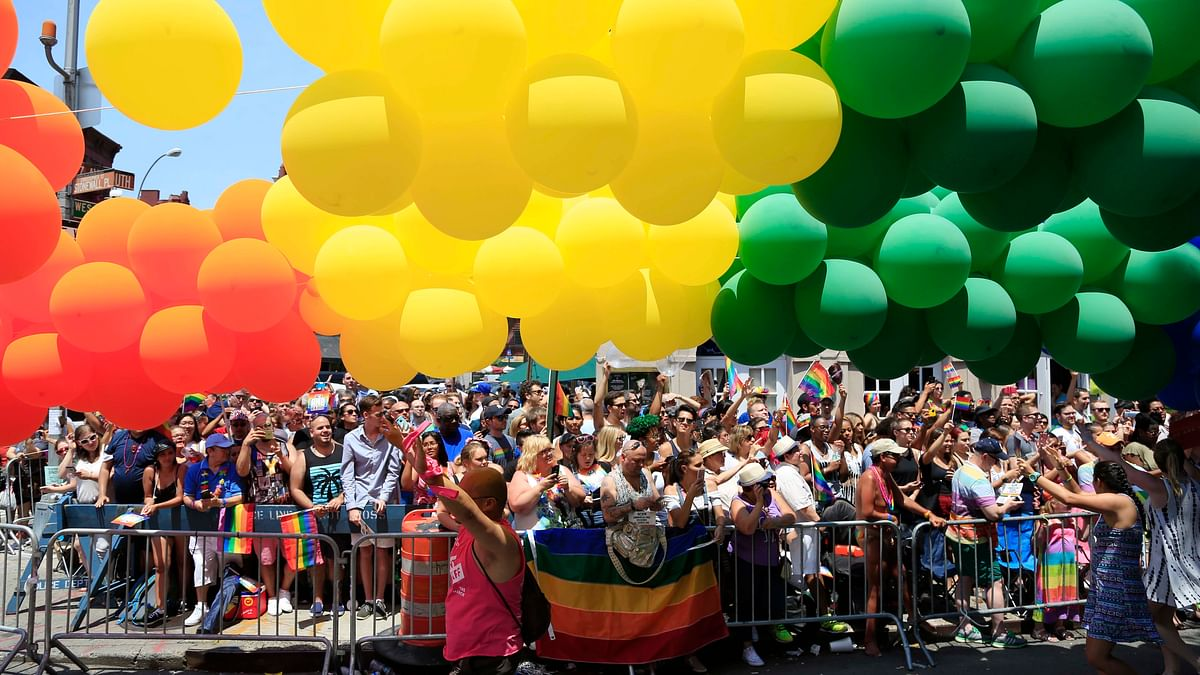 Pride parade in San Francisco. (Photo: AP)