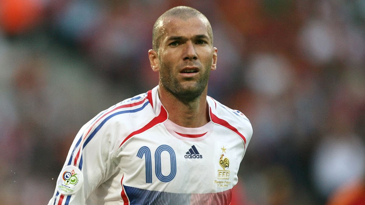 Zinedine Zidane was part of French's losing side in the 2002 FIFA World Cup.