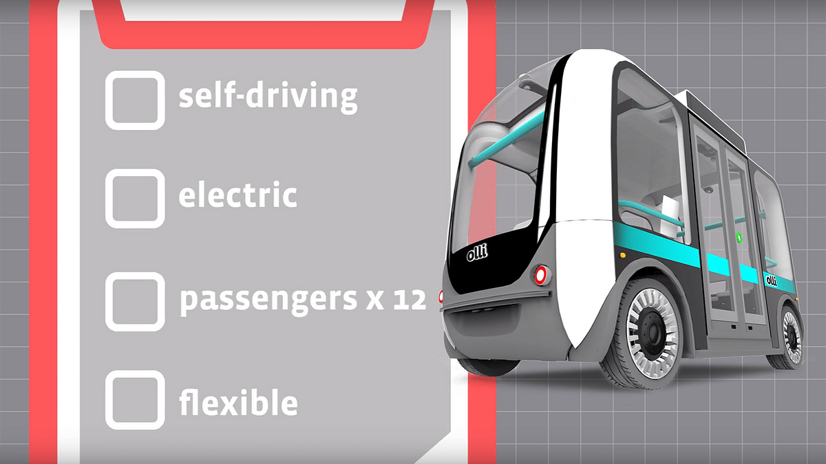 Features of the Olli. (Photo Courtesy: YouTube/IBM)