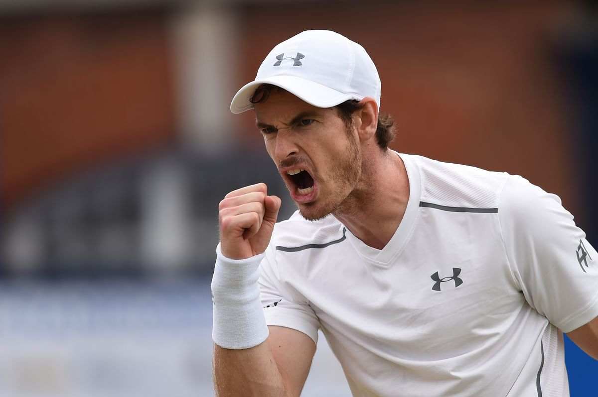 Andy Murray is entering Wimbledon high on confidence after winning at Queen's Club.(Photo: Reuters)