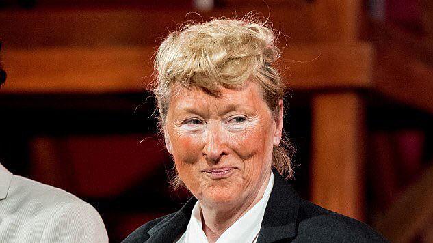 "Meryl Streep as Donald Trump. (Photo Courtesy : Twitter/<a href=""http://https://twitter.com/Alibenzkr"">Alibenzkr</a>)"