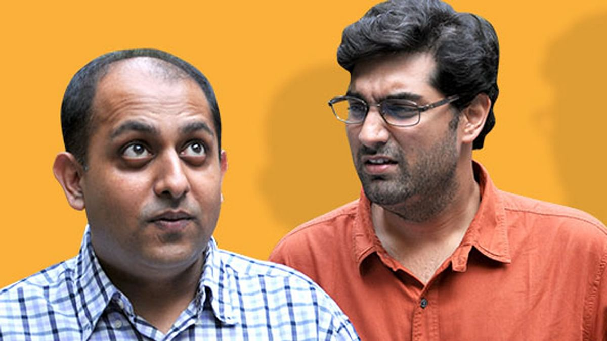 """Join this candid chat with the funny guys Anuvab Pal and Kunaal Roy Kapur (Photo: <a href=""""http://www.audiomatic.in/category/our-last-week/"""">Audiomatic</a>)"""