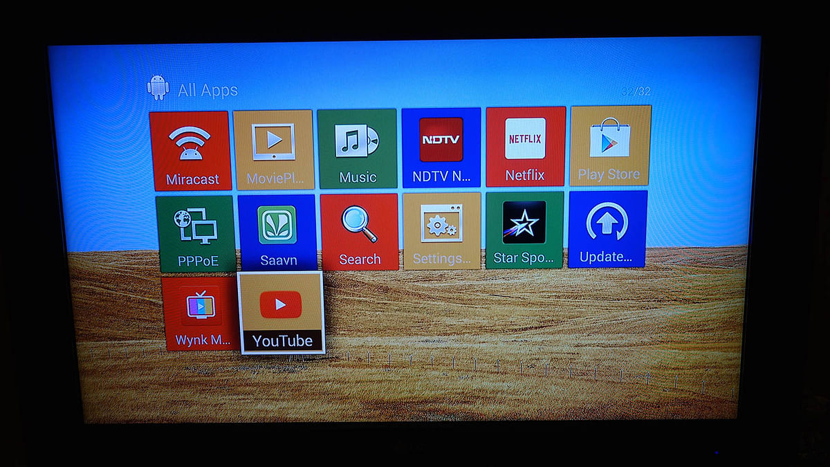 Android powered Amkette Evo TV 2. (Photo: <b>The Quint</b>/@2shar)