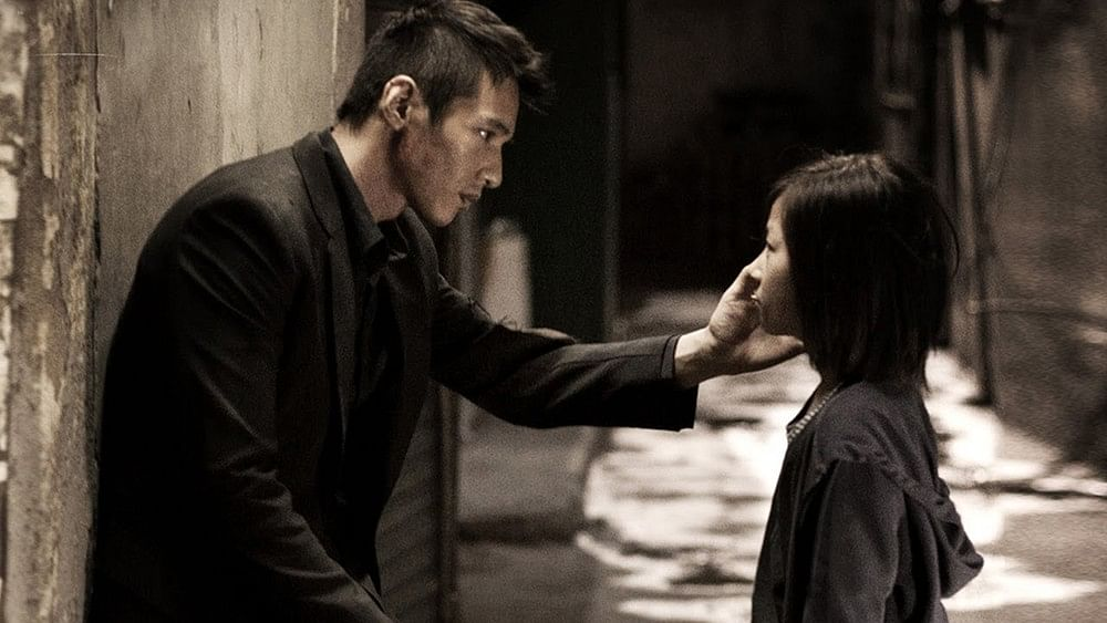 A still from <i>The Man from Nowhere</i>