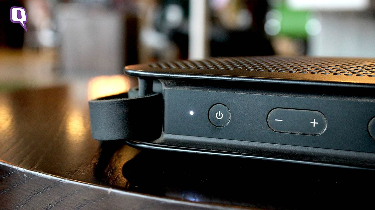 B&amp;O BeoPlay A2 supports Bluetooth 4.0 (Photo: <b>The Quint</b>)