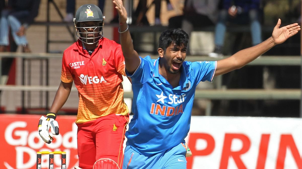Jasprit Bumrah appeals for a wicket during the series. (Photo: AP)