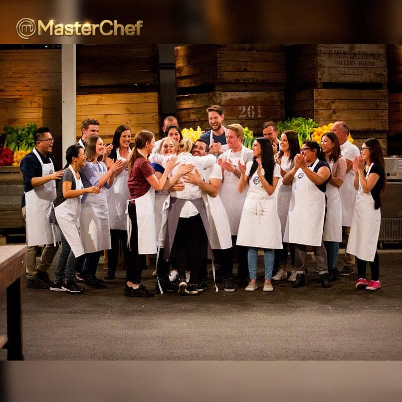 """There are men and women constantly slapping each other on the backs and coming in for group hugs. (Photo Courtesy: <a href=""""https://www.facebook.com/MasterChefAU/photos"""">Facebook/MasterChef Australia</a>)"""