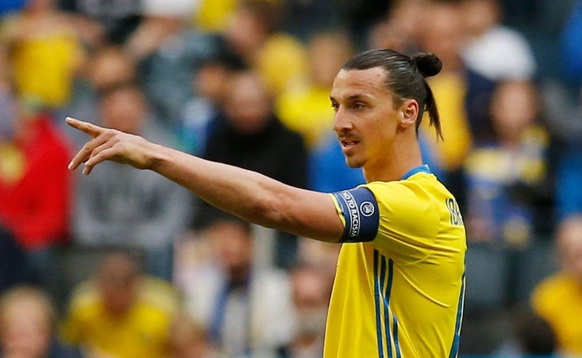 Zlatan Ibrahimovic. (Photo: Reuters)