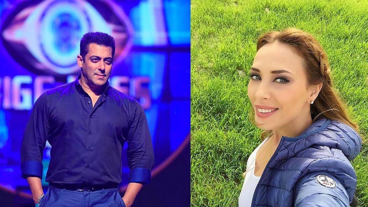 Salman Khan is said to be guiding Iulia's career plans. (Photos: Instagram)