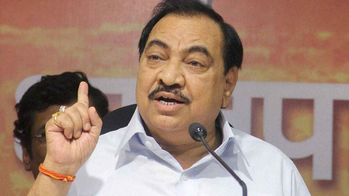 If I Open My Mouth, the Entire Country Will Shake: Eknath Khadse