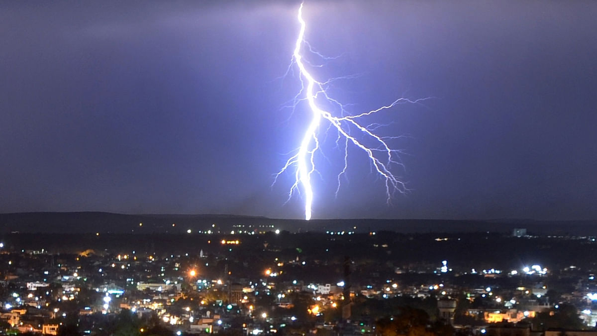 Three persons including a college student and two siblings were killed after lightning struck.