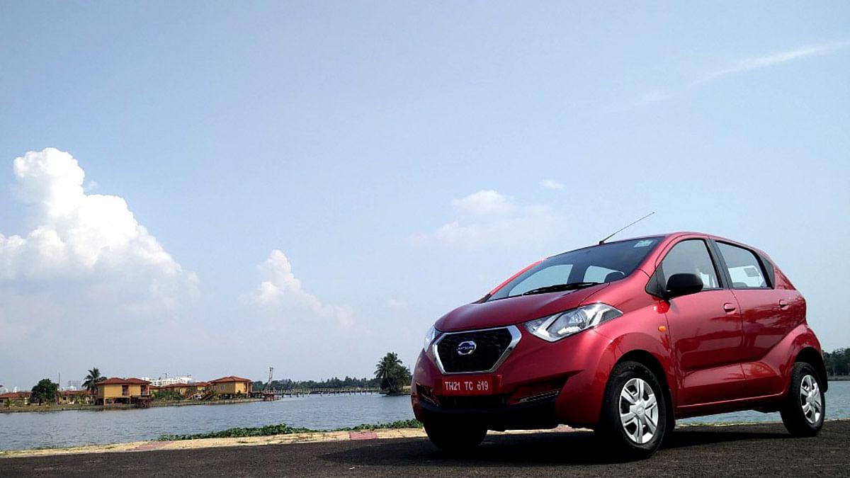 Datsun redi-Go, the urban-cross. (Photo Courtesy: MotorScribes)