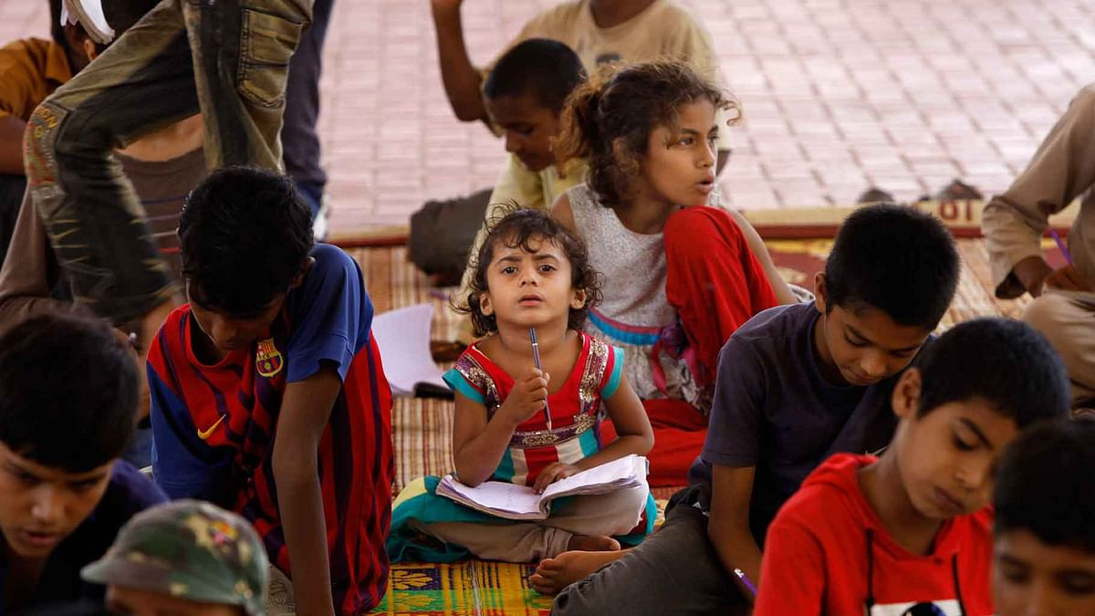 An initiative by NGO to help reach children.(Photo: AP)