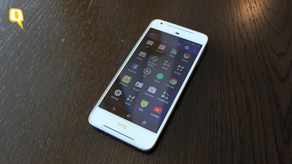 HTC Desire 628 has a 1280x720 screen.&nbsp;(Photo: <b>The Quint</b>)