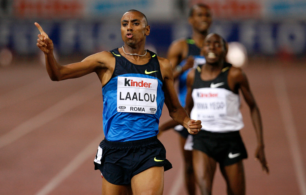 Moroccan runner Amine Laalou was also among the athletes whose doping bans were confirmed by the IAAF on Wednesday. (Photo: Reuters)