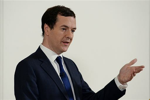 George Osborne said his fierce advocacy for Britain staying part of the EU meant he was no longer a suitable candidate for the highest office.  (Photo: AP)
