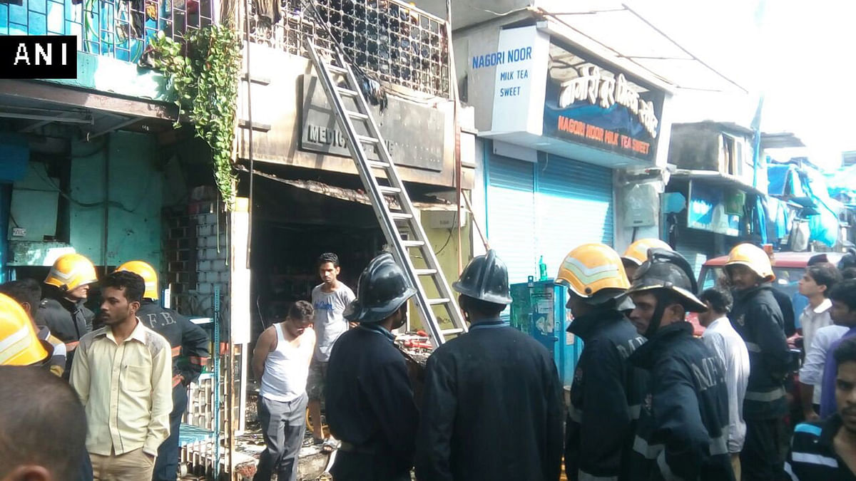 The primary reason for fire is suspected to be a short circuit. (Photo: ANI)