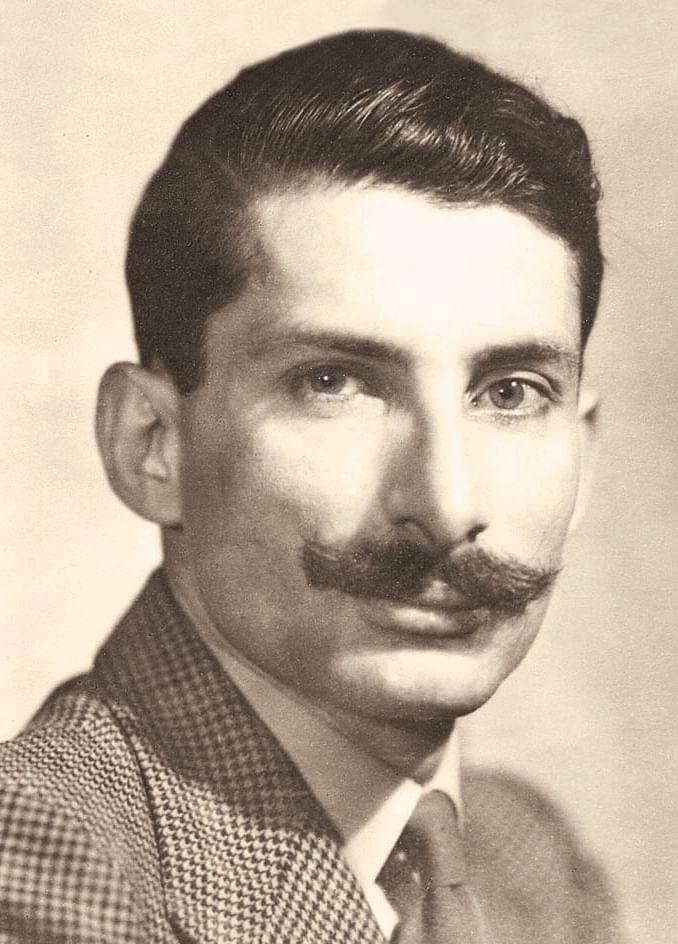 """Photo of Sam from his younger days. (Photo Courtesy: <a href=""""http://www.niyogibooksindia.com/wp-content/uploads/2014/04/Sam-Manekshaw-book-3.jpg"""">niyogibooksindia</a>)"""