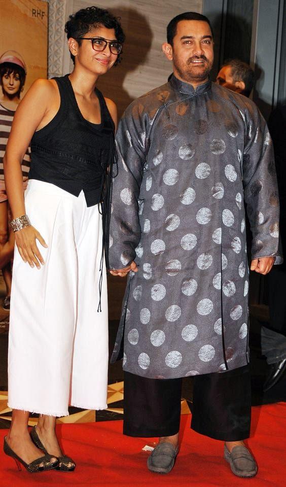 Kiran Rao and Aamir Khan (Photos: Yogen Shah)