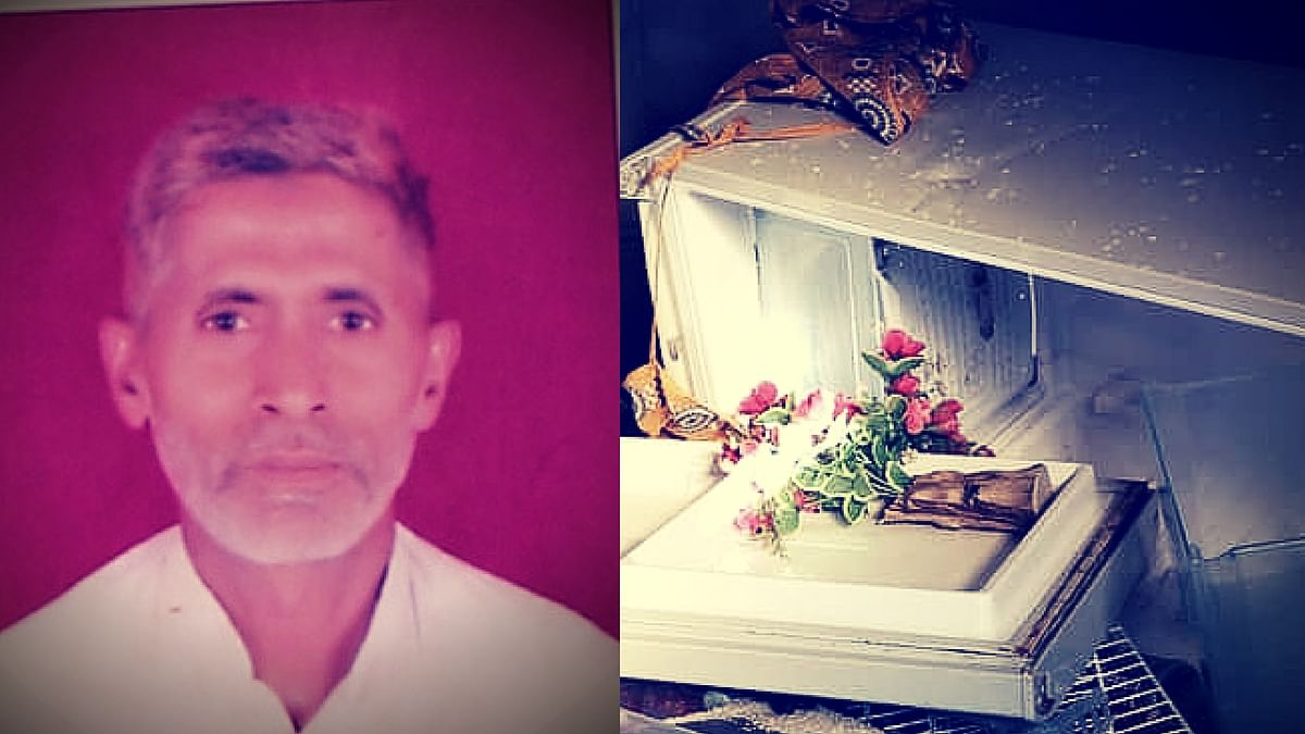 September 28, 2015: The mob first ransacked Mohammad Akhlaq's fridge and turned murderous after finding leftover meat from Eid. (Photo: The Quint)