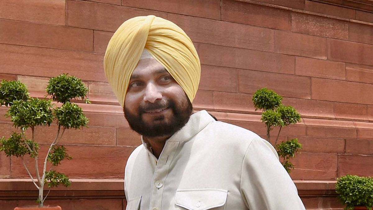 Navjot Singh Sidhu. (Photo Courtesy: PTI)