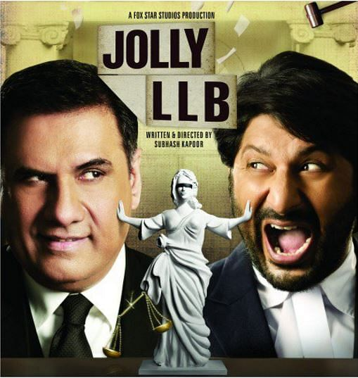 "A poster for the film <i>Jolly LLB</i>. (Photo: Twitter/<a href=""https://twitter.com/search?f=images&amp;vertical=default&amp;q=Jolly%20LLB&amp;src=typd"">TweetABollywoodSong</a>)"