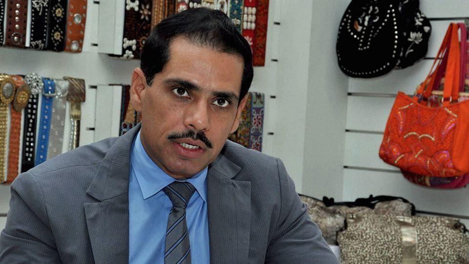 Robert Vadra, son-in-law of congress president Sonia Gandhi. (Photo: PTI)