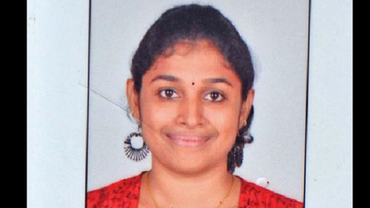 S Swathi, the Infosys employee who was hacked to death at a local train station in Chennai. (Photo Courtesy: The News Minute)