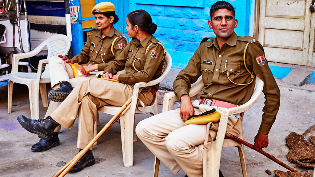 There should be an officer for every 454 people, according to UN standards quoted in the South Asian Terrorism Portal. (Photo: iStock)