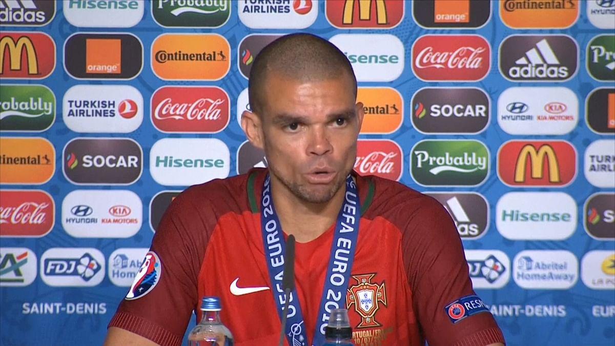 Euro 2016: We Had Pinned Our Hopes on Ronaldo, Says Pepe