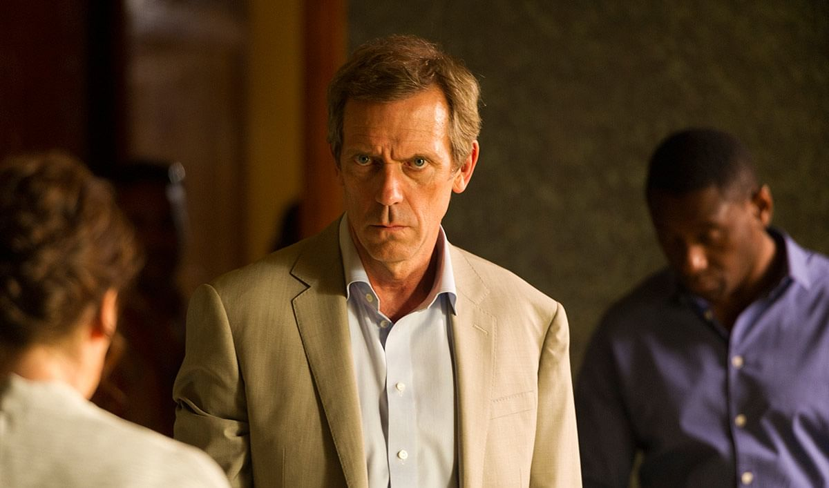 Hugh Laurie is an evil treat in <i>The Night Manager</i>.