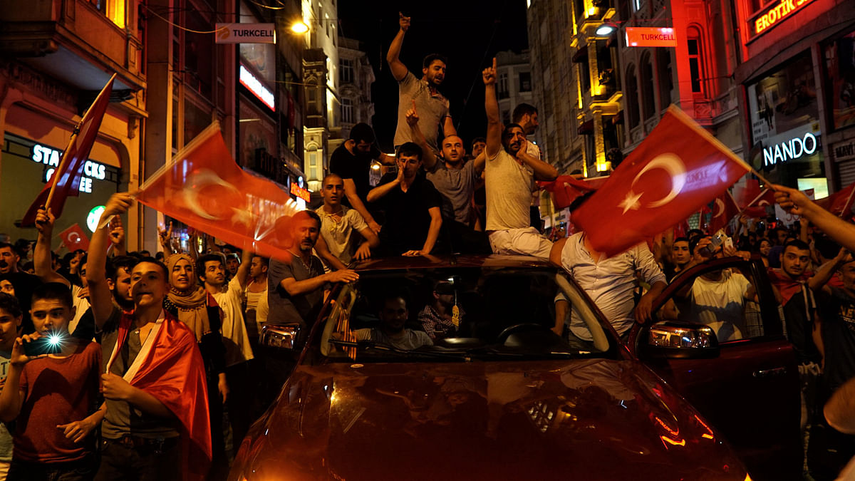 Following the attempted military coup in Turkey, President Erdogan has widened the purge on the security forces. (Photo: AP)