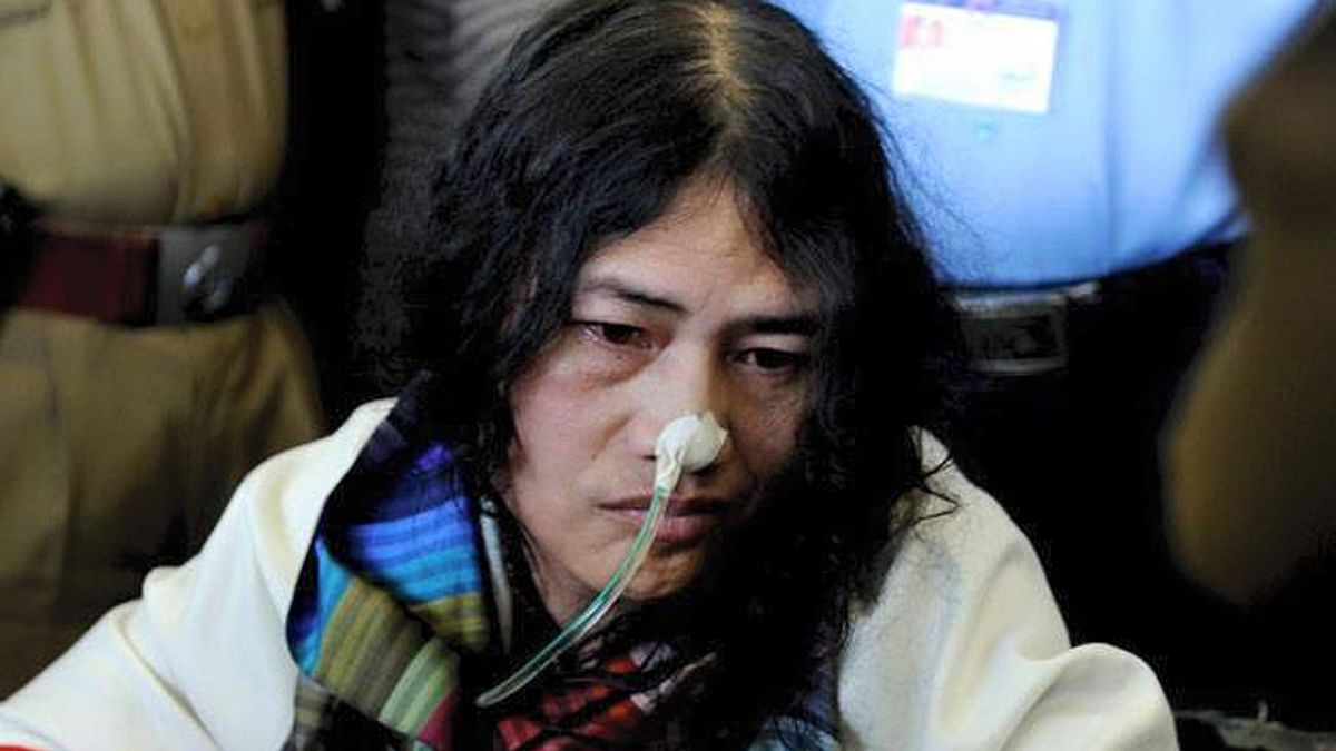 "Irom Sharmila. (Photo Courtesy: Facebook/<a href=""https://www.facebook.com/Iron-Lady-of-Manipur-Irom-Sharmila-Chanu-1457117077849765/photos_stream"">Iron Lady of Manipur</a>)"
