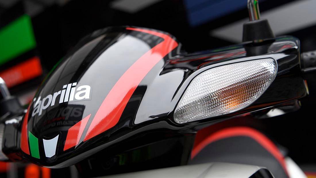 Front lights on the Aprilia SR 150. (Photo Courtesy: Aprilia)