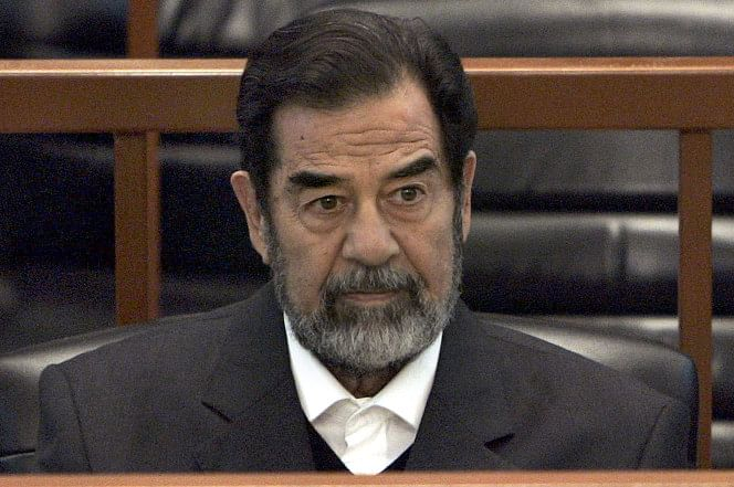 Saddam Hussein was arrested in 2003 and executed in 2006 by Iraqi authorities. (Photo: Reuters)