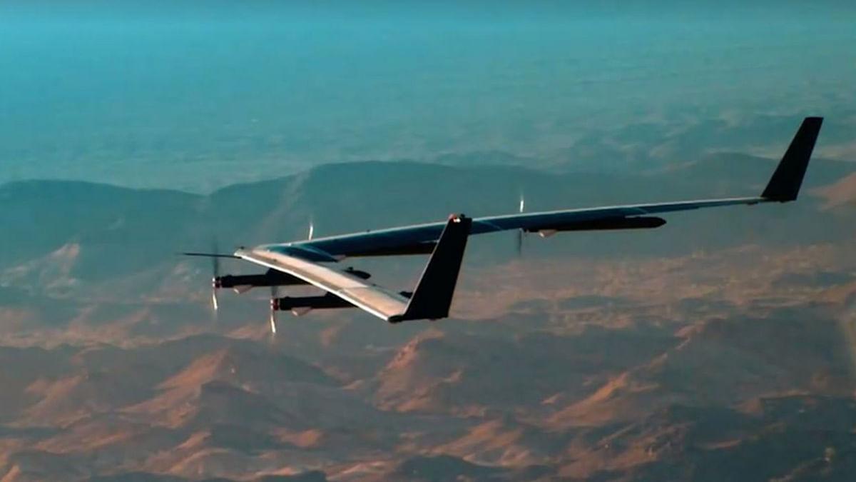 Facebook's Aquila drone.
