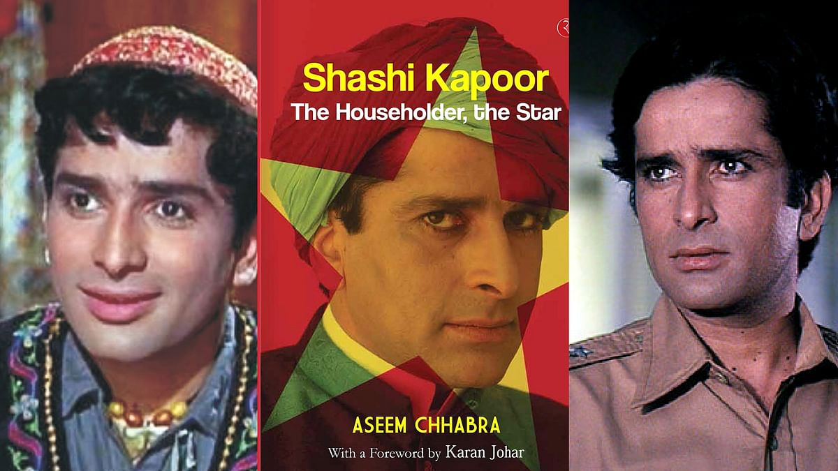 Shashi Kapoor was one of the leading Bollywood stars in the '60s and '70s.