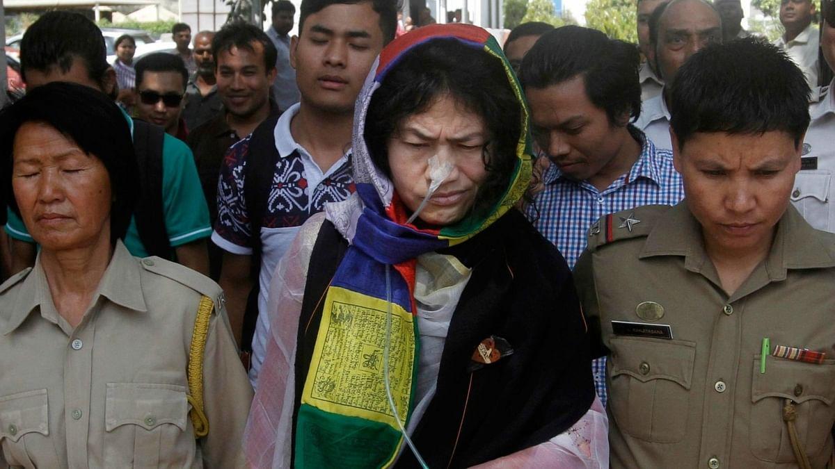 Manipuri rights activist Irom Sharmila. (Photo: IANS)