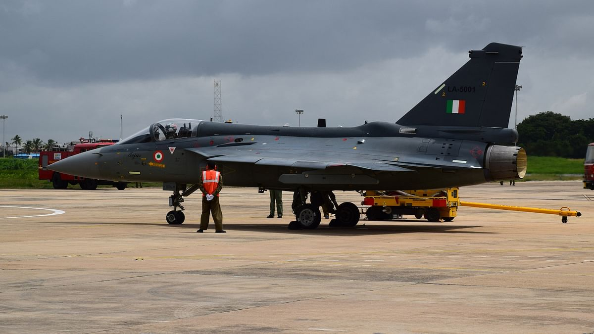 The Tejas has landed.