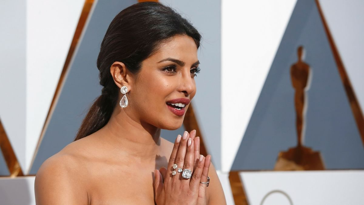 Priyanka Chopra is representing India on a grand scale.