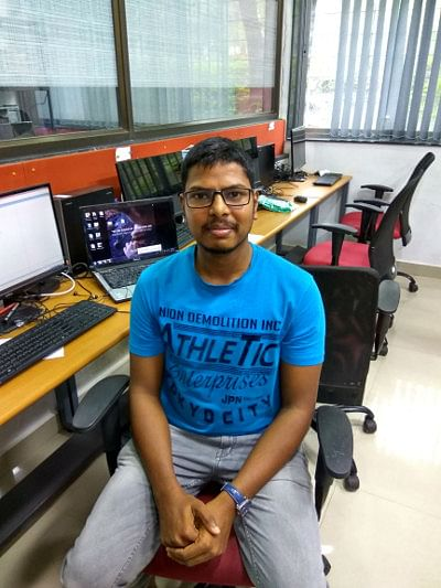 Naveen Gurappu, 25, electrical engineer and doctoral student at IIT Bombay, would not have made it to the Indian Institute of Technology for a graduate engineering degree had it not been for affirmative action. (Photo Courtesy: IndiaSpend)