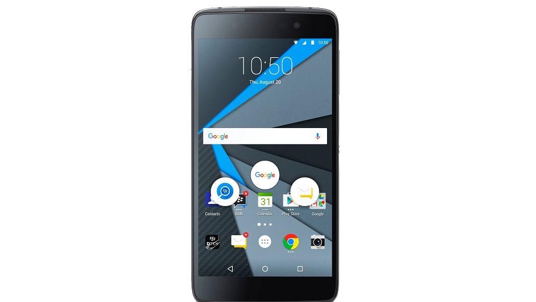 BlackBerry DTEK 50. (Photo Courtesy: BlackBerry/Twitter)
