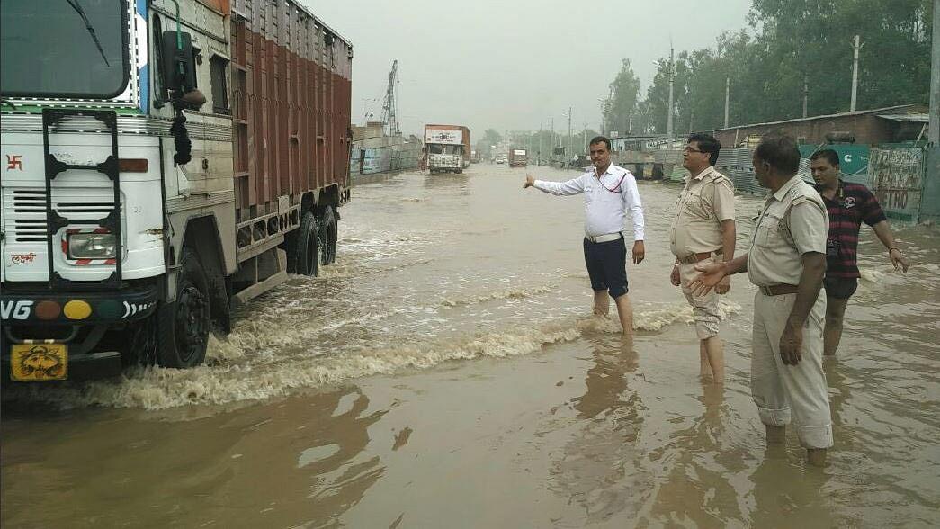 #GoodNews: Govt to Honour Patiala Cops Who Braved Heavy Rains