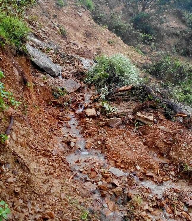 Singhali, Patthakot, Ogla and Thal villages are the worst affected.(Photo: ANI)