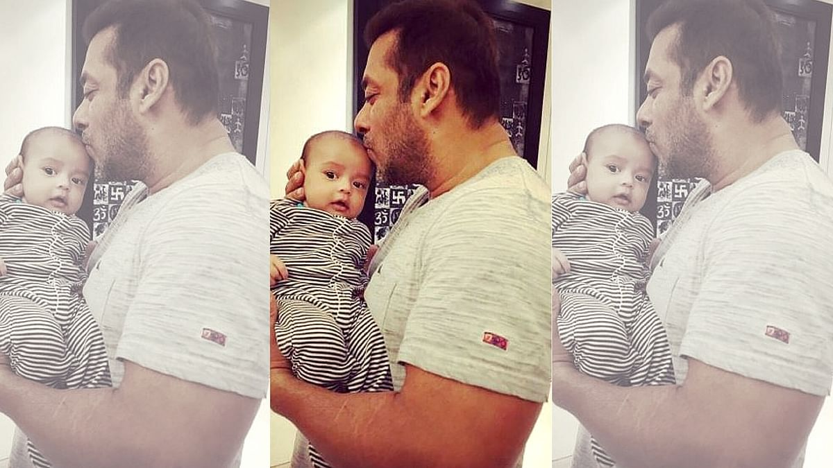 Watch: Salman Khan Cuts His Birthday Cake With Nephew Ahil