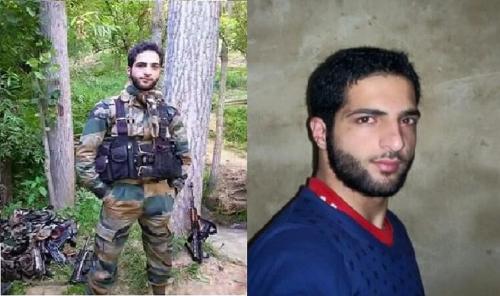 Hizbul Mujahideen's 21-year-old poster boy Burhan Muzzafar Wani was shot dead on Friday by security forces. (Photo: altered by <b>The Quint</b>)
