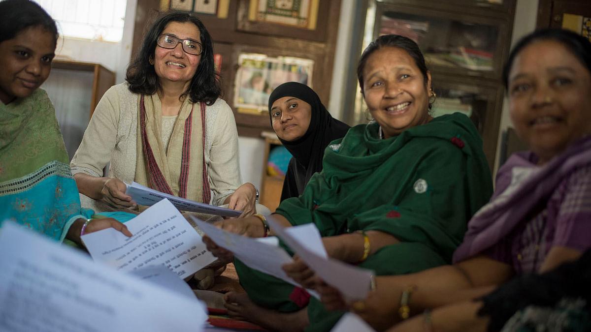 "Co-founder of the Bharatiya Muslim Mahila Andolan Zakia Soman said that a year-long programme aims to produce a steady stream of women <i>qazis</i> across India. (Photo Courtesy: <a href=""https://www.facebook.com/photo.php?fbid=1561830657415948&amp;set=a.1561830744082606.1073741827.100007670860365&amp;type=3&amp;theater"">Facebook/Zakia Soman</a>)"