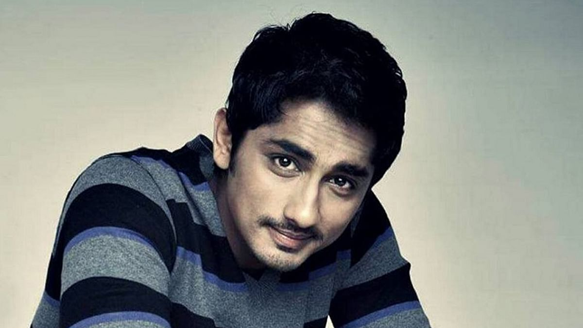 File image of South Indian actor Siddharth, of the 'Rang De Basanti' fame.