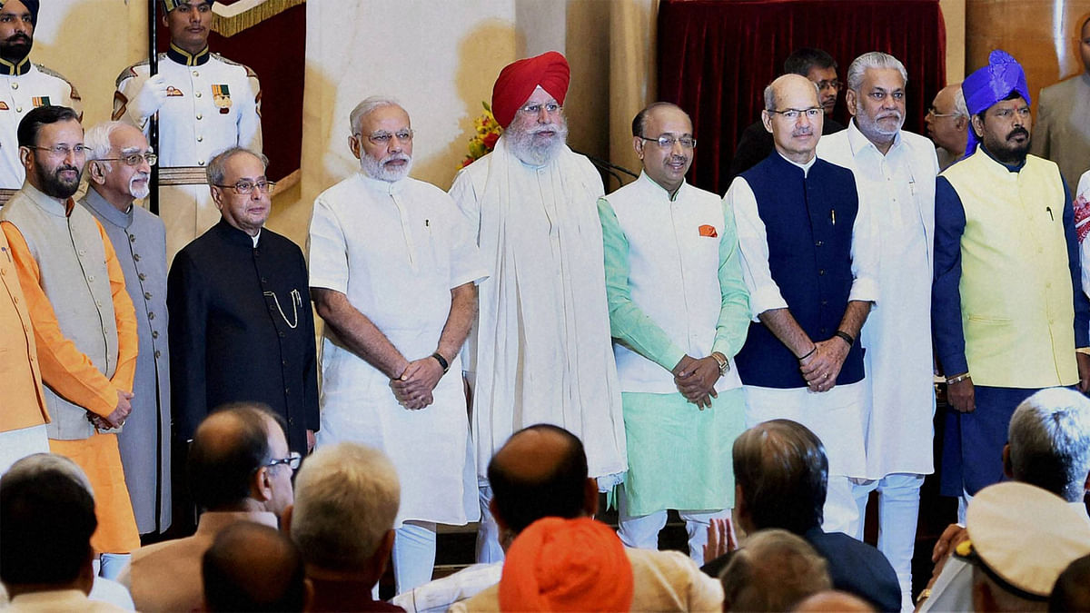 New Look For NaMo Government; 19 New Ministers, Five Dropped